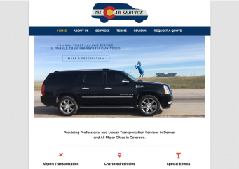 303 Car Service – Web Design