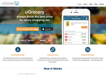 uGrocery – Web Design